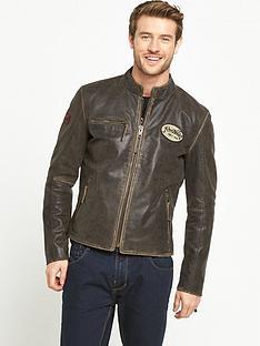 joe-browns-badged-leather-jacket
