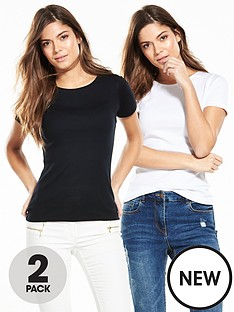 v-by-very-2-pack-crew-neck-ribbed-t-shirtsnbsp
