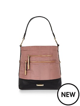 river-island-sporty-nylon-slouch-bag