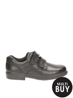 clarks-deatongate-jnr-black-leather