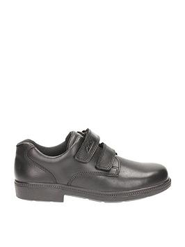 clarks-deatongate-jnr-black-leather