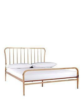 ideal home webster metal double bed frame littlewoodsirelandie - Double Bed Frame