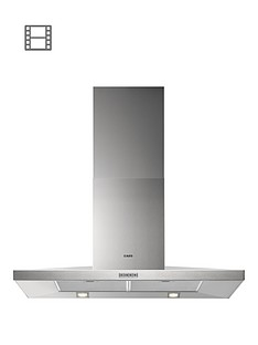 aeg-x69163mk1-low-profile-pyramid-style-90cm-chimney-cooker-hood-stainless-steel