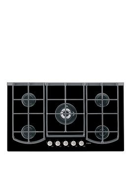 aeg-hg995440nb-90cm-wide-gas-hob-black
