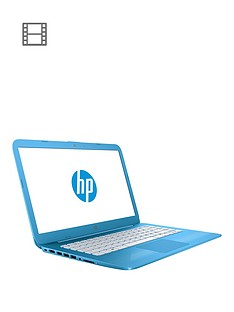 hp-hp-stream-14-ax000na-intel-celeron-4g-32gb-storage-14in-laptopnbspincludes-microsoft-office-365-personal--nbsp-aqua-blue