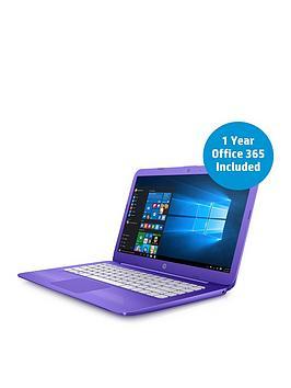hp-stream-14-ax000na-intelreg-celeronreg-processor-4gb-ram-32gb-storage-14-inch-laptop-with-12-months-office-365-personal-and-1tb-onedrive-cloud-storage-purple
