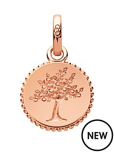 links-of-london-links-of-london-sterling-silver-rose-gold-plate-tree-of-life-charm