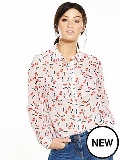 v-by-very-printed-button-through-blouse