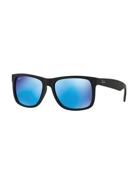 ray-ban-orb4165-mirror-lens-justin-sunglasses-blackblue