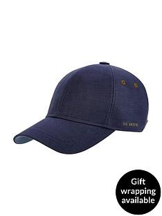 ted-baker-textured-baseball-cap