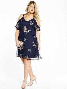 so-fabulous-embellished-cold-shoulder-dressnbsp--navy