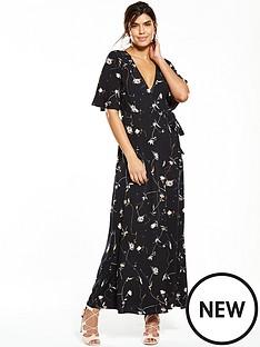 v-by-very-printed-wrap-maxi-dress