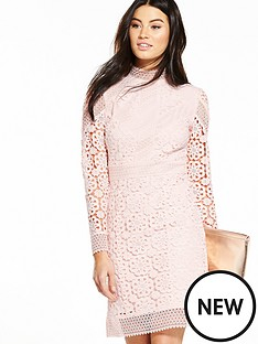 v-by-very-premium-lace-shift-dress-blush-pinknbsp