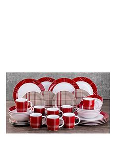 waterside-highland-tartan-32-piece-dinner-set