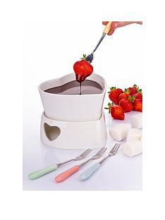 heart-fondue-set