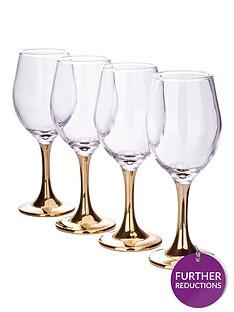 gold-stem-wine-glasses-ndash-set-of-4