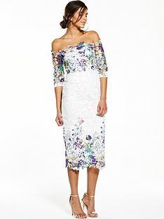 v-by-very-printed-lace-bardot-dress
