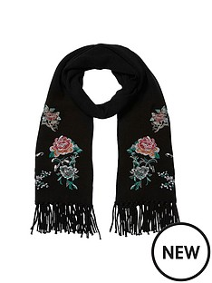 river-island-embroidered-scarf