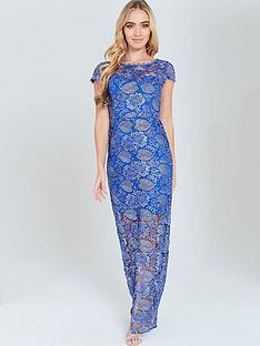 paper-dolls-paper-dolls-metallic-crochet-lace-split-front-maxi-dress