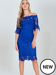 paper-dolls-paper-dolls-blue-bardot-crochet-lace-dress
