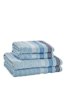 catherine-lansfield-4-piece-garrett-stripe-towel-bale