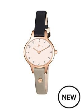 radley-radley-newton-two-tone-rose-tone-case-leather-strap-ladies-watch