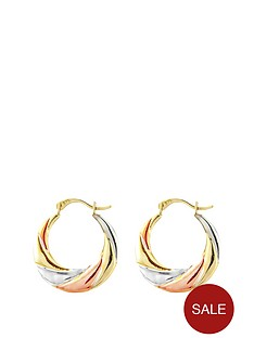 love-gold-9ct-yellow-gold-rose-gold-and-sterling-silver-creole-earring