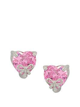 love-silver-sterling-silver-pink-cubic-zirconia-heart-shape-earrings