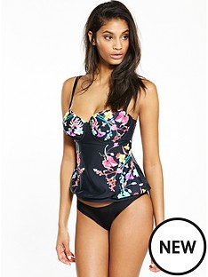 v-by-very-controlwear-underwired-floral-placement-tankini-top-baclnbsp