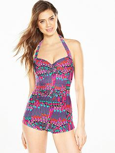 v-by-very-mix-amp-match-halter-playsuit-feather-print