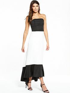 v-by-very-high-low-dress-monochrome