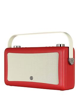 view-quest-hepburn-mkii-dab-radio-amp-bluetooth-wireless-speaker-red