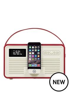 view-quest-retro-mkii-dab-bluetooth-wireless-radio-red