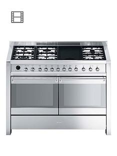 smeg-a4-8-operanbsp120cmnbspdouble-oven-dual-fuel-range-cooker