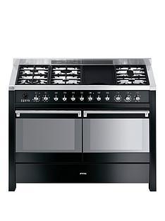 smeg-a4bl-8-operanbsp120cm-double-oven-dual-fuel-range-cooker