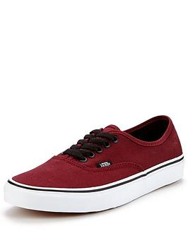 vans-vans-authentic-burgundywhite