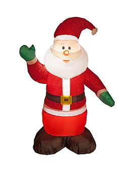 4ftnbspinflatable-light-up-glitter-santa-indooroutdoor-christmas-decoration