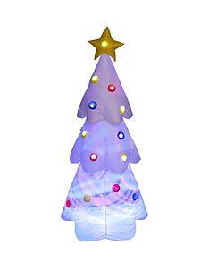 6ftnbspwhite-led-light-up-disco-tree-indooroutdoor-christmas-decoration