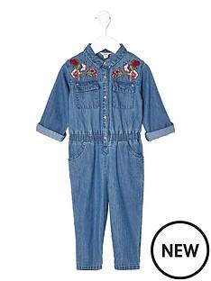 river-island-mini-mini-girls-denim-embroidered-jumpsuit