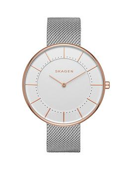 skagen-gitte-white-dial-silver-tone-stainless-steel-mesh-bracelet-ladies-watch