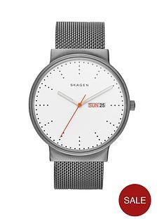 skagen-ancher-white-dial-stainless-steel-mesh-braceletnbspmens-watch