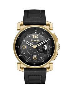 diesel-on-dzt1004-black-dial-gold-tone-case-mens-smart-watch