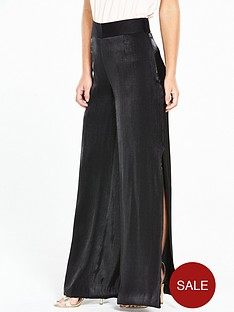v-by-very-petite-petite-wide-leg-metallicnbsptrouser