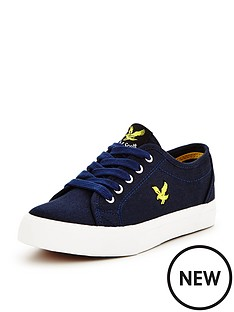 lyle-scott-lyle-amp-scott-boys-teviot-canvas-shoe