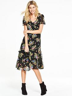 v-by-very-vintage-floral-ruffle-dress