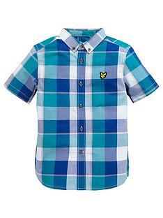 lyle-scott-ss-check-shirt