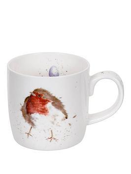 royal-worcester-wrendale-garden-friend-robin-mug-by-royal-worcester-single-mug