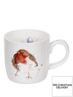 royal-worcester-wrendale-garden-friend-robin-mug