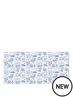 pimpernel-botanic-blue-placemats-set-of-6