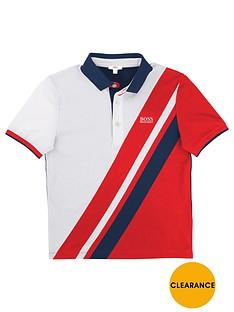boss-boys-diagonal-striped-polo
